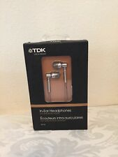 TDK EB-750 In-Ear Headphones with ceramic housing for full sound