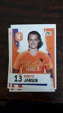 AH Voetbalplaatje 2018 2019 #290 Renate Jansen Oranje Dames