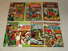 SPECIAL MARVEL EDITION 1 3 4 + MARVEL SPECTACULAR 1 5 6 7 MIGHTY THOR REPRINTS