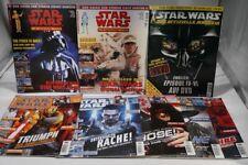 8x Star Wars - das offizielle Magazin Nummer 1,2,35,55,56,57,59,61