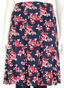 Women`s Short skirt back elasticated waist floral prints.Plus sizes (12-24)