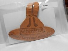 KANSAS CITY AREA COUNCIL CAMPMASTER LEATHER  F10443
