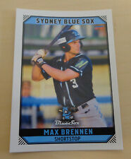 Max Brennen 2018/19 Australian Baseball League card - Sydney Blue Sox