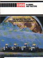 """CASE """"94 Series"""" 4-Wheel-Steer Tractor Brochure Leaflet"""