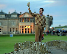 Tom Watson Bids Farewell at St Andrews British Open (2015) - 8x10 Color Photo
