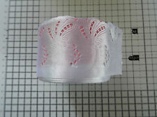 2m -White, Satin,Openwork,Lace Ribbon - Applique,Trimmings,Wedding -Width 5.5 cm