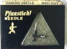 NOS Genuine Pfanstiehl Diamond Needle M853-DS77 Stereo & Mono IIllinois, USA