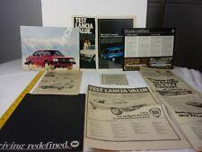 Lancia Zagato 1979 Beta Coupe magazine ads clippings car dealership brochure L2