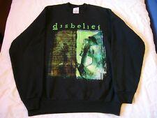 death, thrash, metal DISBELIEF – ultra rare old, around 2002, Sweat Shirt!!!