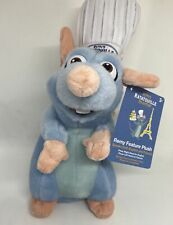 Disney Parks Remy's Ratatouille Adventure Talking Plush Also French New with Tag