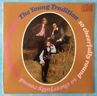 YOUNG TRADITION ~ SO CHEERFULLY ROUND ~ 1967 UK 11-TRACK VINYL LP RECORD [Ref.2]