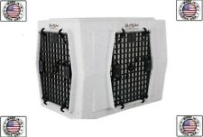 Ruff Land Intermediate Double Door Side Kennel Entry Dog Crate
