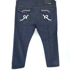 RocaWear Classic Fit 46x34 Dark Wash Blue Jeans Straight Fit MINT!!!
