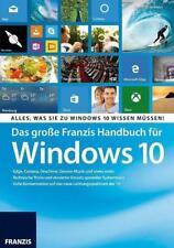 Das große Franzis Handbuch für Windows 10 von Christian Immler (2015, Taschenbuch)