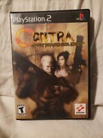 BLACK LABEL Contra: Shattered Soldier (Sony PlayStation 2) PS2 w/Manual CIB