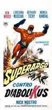 Superargo Vs Diabolicus Poster 03 Metal Sign A4 12x8 Aluminium