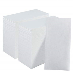 200 Pack Disposable Guest Towels Soft and Absorbent Linen-Feel Paper Hand Towels
