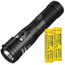 Nitecore Concept 1 (C1) 1800 Lumen LED Compact Flashlight & 2x IMR3100 Batteries