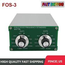 Fos 3 Ocxo Frequency Standard 441k 48k Word Clock Cw Fr External Rubidium Clock