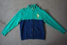 Mens Green U.S. Polo Assn. Zip Sweatshirt Size L