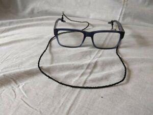 Eyeglasses / Sunglasses / Lanyard Black Beads Fits All