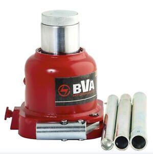 "New BVA Hydraulics 20 Ton 1.63"" Stroke Low Profile Mini Bottle Hydraulic Jack"