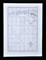1868 Tour du Monde Map Mage Sudan Voyage Diangounte Dianghirte Segou Mali Africa
