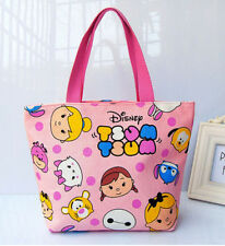 disney tsum tsum pink princess mix pink handbag tote lunch bag bags YT35 storage