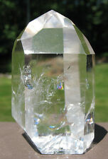 Polished Lemurian Quartz Crystal