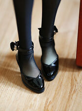 Black Mimi Collection MSD Doc 1/3 BJD Obitsu Doll Shoes High-heeled Shoes