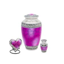 Grecian Pink Cremation Urn Set