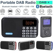 FM Radio + Digital DAB/DAB Bluetooth Receiver Portable Stereo Speaker MP3 Player