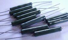 10 x Welwyn w23 7k5 VINTAGE Vitreo SMALTATO 9w Filo-ferita Resistore