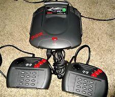 Atari Jaguar System 2 Controllers & 4 Games TEMPEST, Ninja, Cybermorph & Raiden