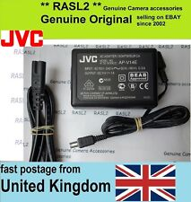 Genuine Original JVC AC POWER Adapter AP-V14 GY-HM150e GZ MG610SE MG20 MG27us E