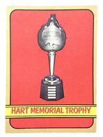 1972-73 Hart Memorial Trophy Winners 127 OPC O-Pee-Chee Hockey Card P170