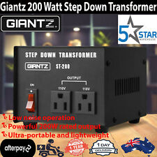 Giantz 200W 240V TO 110V Step Down Stepdown Transformer Voltage Converter AU-US