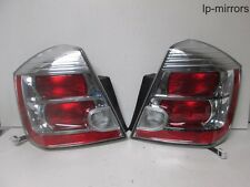 2010-2012 NISSAN SENTRA TAIL LIGHT PAIR SET RH PASSENGER RIGHT + LH DRIVER LEFT