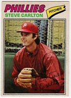 1977 STEVE CARLTON PHILADELPHIA PHILLIES OPC O PEE CHEE BASEBALL CARD #110