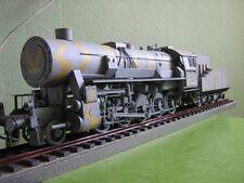 Modelik 08/16 - KRIEGSLOK BR 52 mit Tender 1:25 mit Lasercutteilen