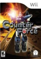 Counter Force 3D Robot Shooter Earth Invasion Wii NEW