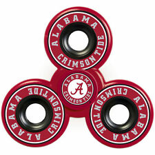 Limited NCAA Alabama Crimson Tide Tri FIDGET Spinner Ceramic Ball Hand Desk Toy