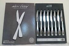 Alex Liddy 'Castella' Premium Quality SS 8 pce Steak Knife Set RRP $39.95