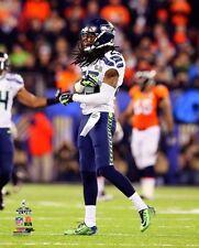 2014 Super Bowl XLVIII RICHARD SHERMAN Seattle Seahawks LICENSED pic 8x10 photo
