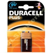 10 Duracell Plus 9V Battery MN1604 6LR61 PP3  DATE 2023