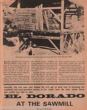 El Dorado - The Dream of the Gold Rush Fell Flat