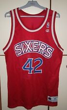 JERRY STACKHOUSE #42 RETRO CHAMPION NBA PHILADELPHIA 76ERS JERSEY SIGNED SIZE 44