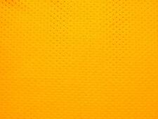 Gold Eyelet Polyester Knit Fabric