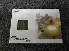 James Bond Archives 2014 Edition - Hovercraft Seat Relic # /500 JBR37 Stitching