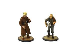 Tin metal soldier German Aviator and Gunner 1939-42 WW II 5.5 cm 1/32 figurine